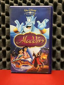 ALADDIN-VS5290-VHS-FILM-ITA-Walt-Disney-I-Classici-Film-Cinema-Videocassetta