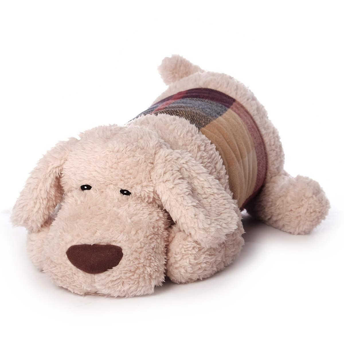 gro e kuschelkissen kinder xxl kuscheltier kissen hund oder husky 65 70 cm ebay. Black Bedroom Furniture Sets. Home Design Ideas