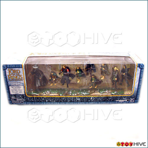 Lord of the Rings Fellowship Collection figure set Armies Middle Earth LOTR AOME