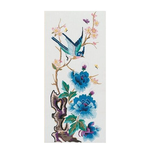 PE700 Anchor Embroidery Kit 66 x 30 cm Chen Yang Bird // Flowers