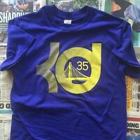 KD Golden State Warriors Kevin Durant Royal Blue T-Shirt