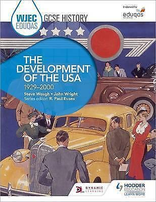 1 of 1 - Good, WJEC Eduqas GCSE History: The Development of the USA, 1929-2000, Wright, J