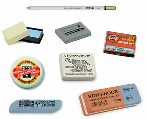 PENCIL-ERASER-RUBBER-KOH-I-NOOR-KNEADED-SOFT-HARD-PEN-INK-PUTTY-KNEADABLE-ARTIST