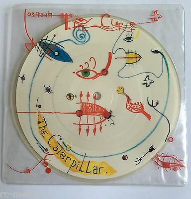 THE CURE - Caterpillar - Picture Disc with Printed PVC Slv - Very Rare! (Vinyl)