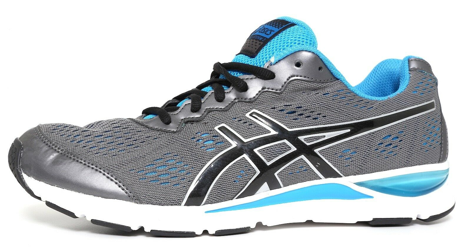 Asics Gel Storm 2 Running shoes Grey bluee Men Sz 9.5 3005