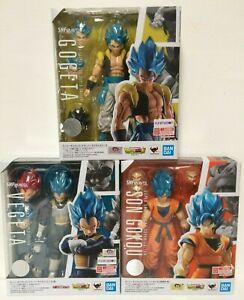 Figuarts Dragon Ball Z DBZ Super Saiyan God Gogeta Action Figure Bandai S.H