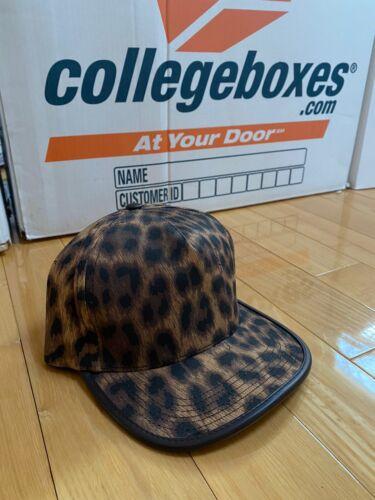 Supreme Leopard Hat Leather Strap