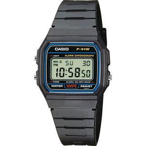 Casio-F-91W-Unisex-Armbanduhr-NEU-Kostenloser-Versand