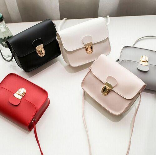 Women Faux Leather Small Handbag Satchel Messenger Cross Body Shoulder Bag Nice