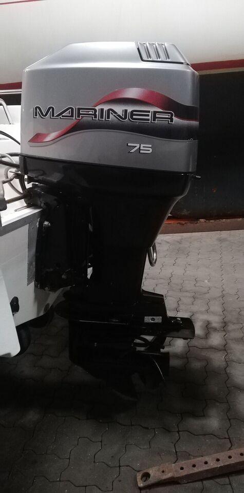 Mariner påhængsmotor, 75 hk, benzin