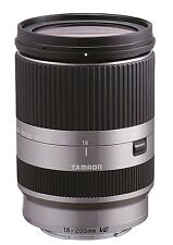 Tamron Objectif 18-200mm Di III VC F3.5-6.3 Argent pour Sony NEX (monture Type