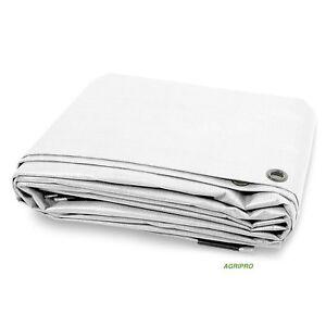 Telo-PVC-telone-occhiellato-copertura-impermeabile-esterni-BIANCO-multiuso-ULTRA