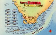TROPICAL FLORIDA FISHING GUIDE listing 12 types of fish and where to catch them