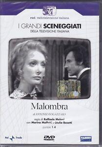 2-Dvd-Box-Sceneggiati-Rai-MALOMBRA-con-Marina-Malfatti-completa-nuovo-1974