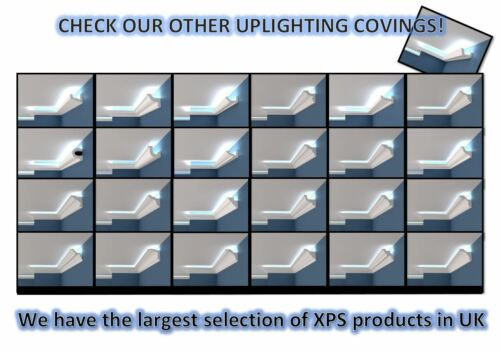 Coving Cornice XPS Polystyrene BSX8 Cheapest LARGE SIZES MANY TYPES Quality 2M
