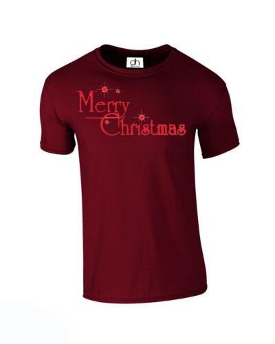 Joyeux Noël Ya Filthy Animal T Shirt Top TEE Nouvel An Noel Merry, tshirt