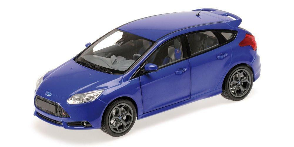 MINICHAMPS 1 18 FORD FOCUS ST 2011 bleu METALLIC 110082001