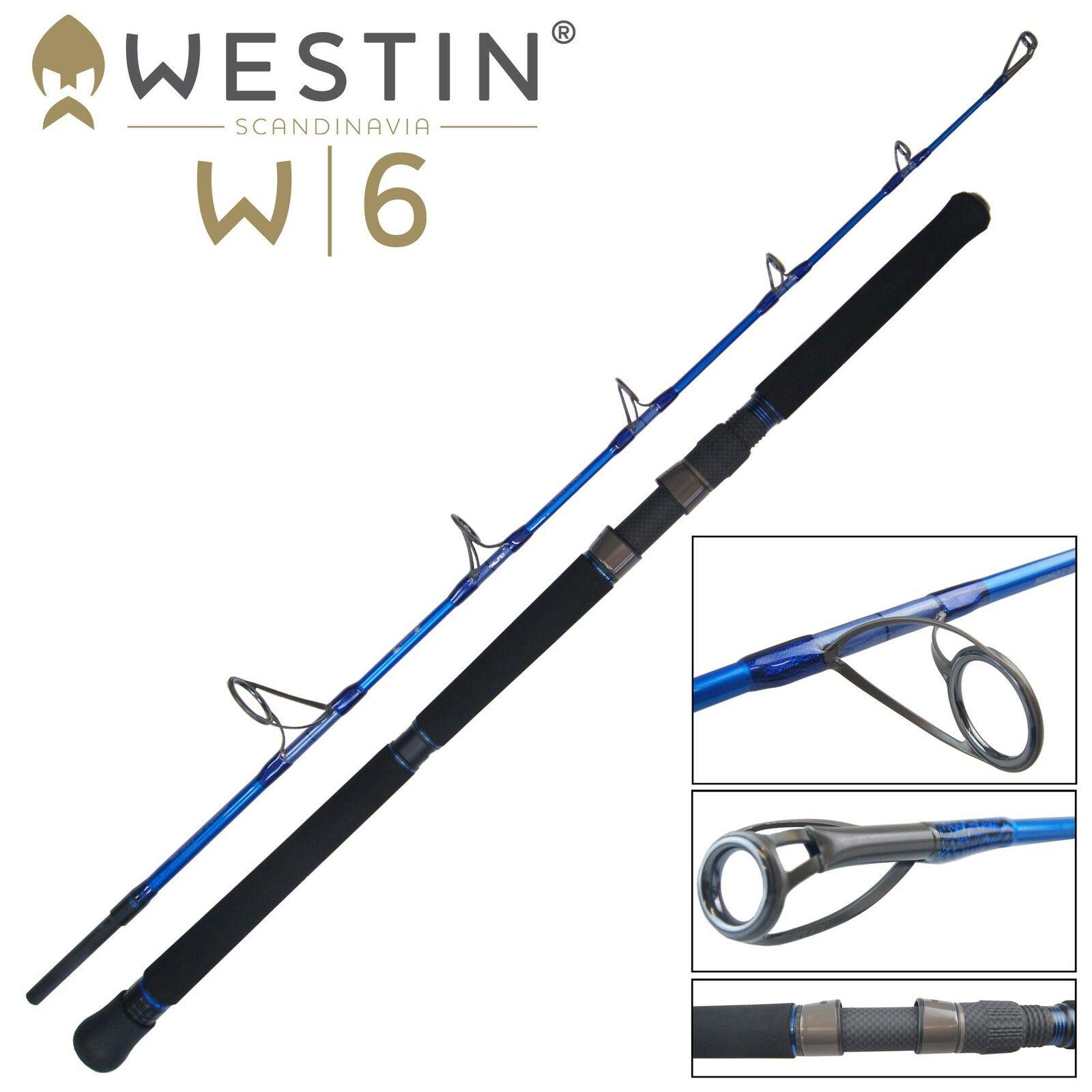 Westin zum W6 Jigging M 155cm 250-400g - Meeresrute zum Westin Spinnfischen, Angelrute 0c9535