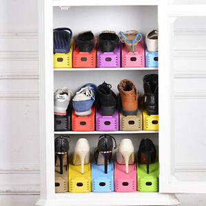 mulit-colors-Chaussure-Support-Organisateur-PLATE-FORME-stockage-Rangements