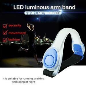 Laufen-im-Freien-Radfahren-Sport-LED-Sicherheit-Reflektierende-Arm-Band-Licht