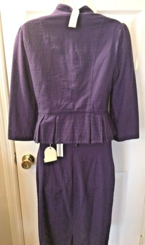 Blue donna 2 Brand Pc Gonna Blazer Purple Set 127 M Tulle New Outfit Suit Sz q4TvBB