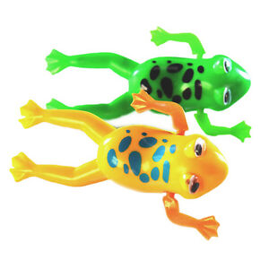 Wind-up Frog Swimming Pool Bath Time Animal Clockwork Floating Kid Baby Toy  JH