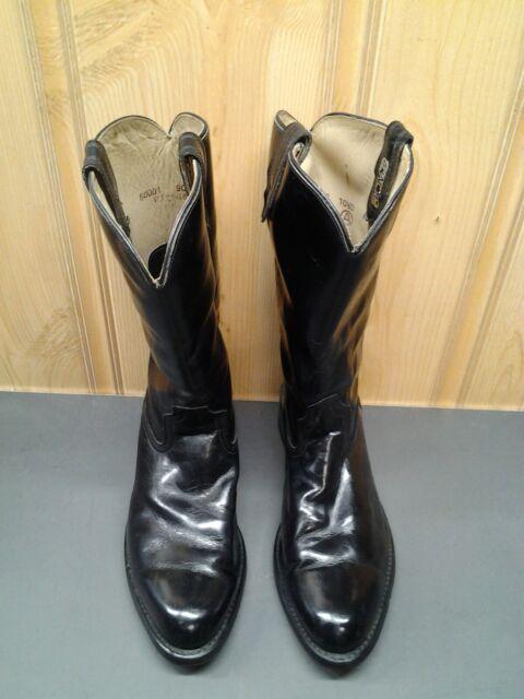 mens black cowboy work boots
