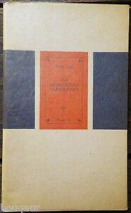 """Yvan GOLL - Les Géorgiques Parisiennes - E.O. 1951 1/50 sur Alfamarais 2e papier - France - Commentaires du vendeur : """"Voir la description dans la fiche"""" - France"""