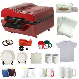 3d heat press machine sublimation ink transfer mug plate for Thermal transfer printing equipment for t shirt