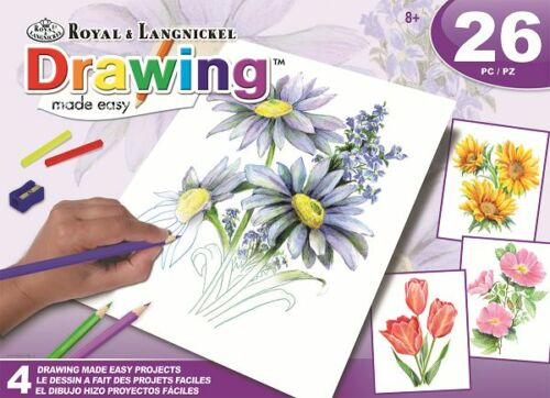 Royal & Langnickel AVS-DME203 Drawing Flowers Box