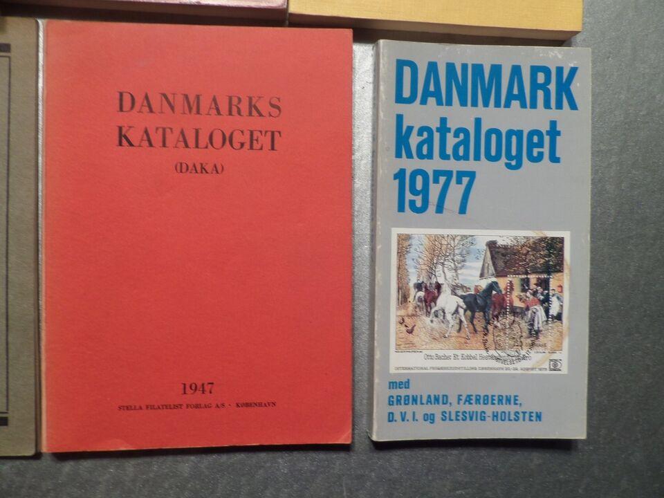Danmark, postfrisk, DIVERSE KATALOGER