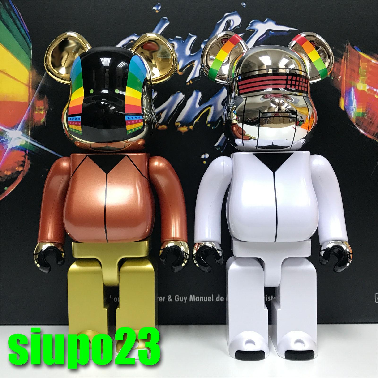 Medicom 400% Orbarbrick  Daft Punk Be@rbrick Discovery Ver 2p