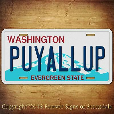 Brownsville Texas City//State//College Vanity Aluminum License Plate Tag