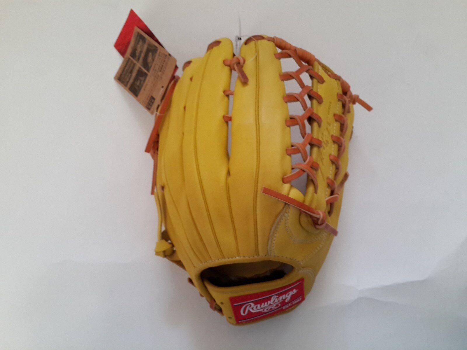Rawlings Gamer Outfielders Baseball Glove TRAP-EZE GR5G8 12.5