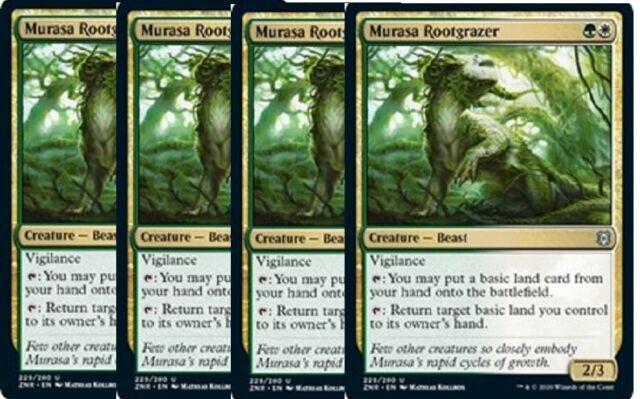 4 Murasa Rootgrazer Zendikar Rising