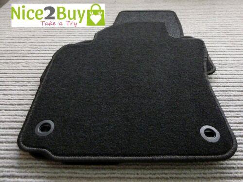 Für Suzuki Kizashi ab 10.10 Velours Fußmatten Autoteppich Salza schwarz