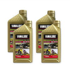 Yamalube 15W-50 Full Synthetic with Ester Engine Motor Oil OEM Yamaha 4 Quarts