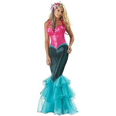 Mermaid Elite Costume Collection Adult Women's Under the Sea Theme Party
