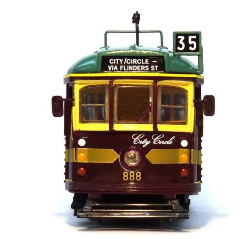 1:76 SCALE MELBOURNE W6 CLASS TRAM 888 CITY CIRCLE NO