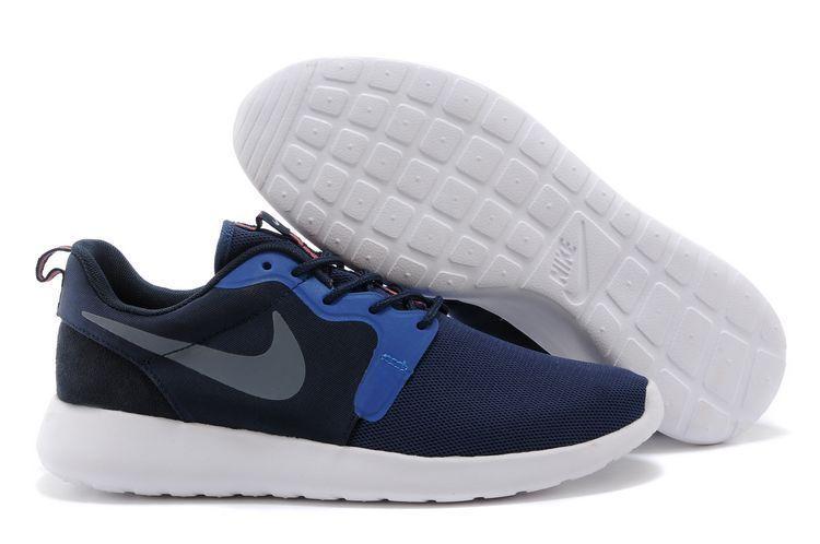 NIKE Rosherun HYPER Neu Free Presto Gr.46 Blau Blue  Sneaker Textil Sommer 90