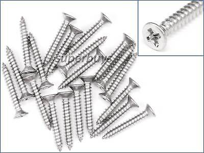 1//10//20pcs 12mm x 5mm M3 Flat Head Phillips Self Tapping Screws Stainless Steel