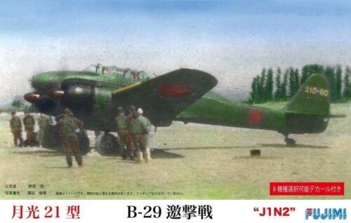 FUJIMI C10 1//72 J1N2 Gekko Irving Type 21