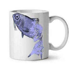 Fish Beast Wild Animal NEW White Tea Coffee Mug 11 oz   Wellcoda