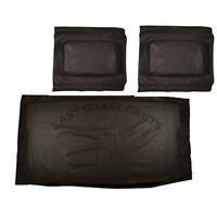 Club Car Ds 1982'-1999' Golf Cart (black Vinyl) Seat Cover Set