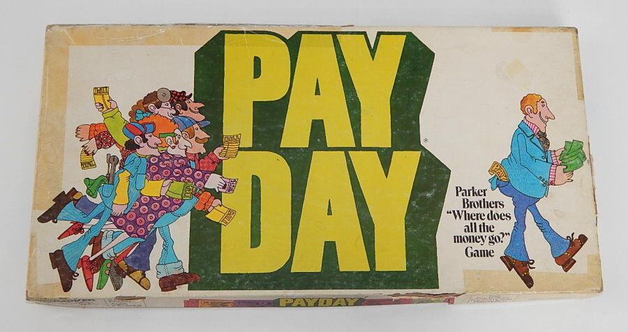 Payday 1975 Complete Board Game Parker Bredhers Vintage Board Game R9129