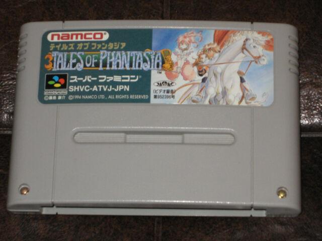 Tales of Phantasia Super Famicom Nintendo SFC SNES JP Japan Import Fantasia