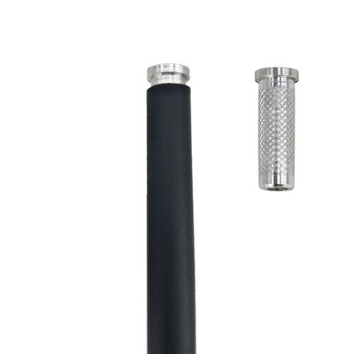 12PCS Aluminum Arrow 6.2mm Inserts Base for  Archery Arrows Practice JX