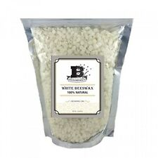 1lb Pure White BEESWAX Pellets100 Pure