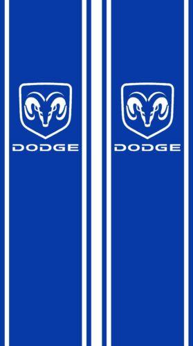 Dodge Ram 1500 2500 truck bed side decals graphics decals