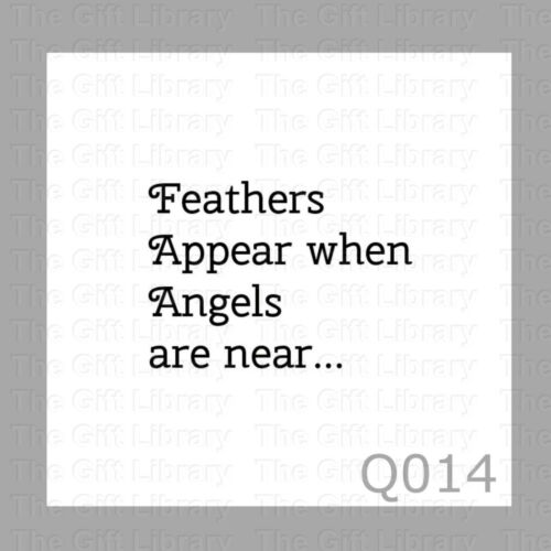 silhouette die cut Quotes Feathers VInyl decal